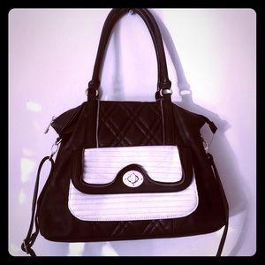 Nine West Black and white Handbag